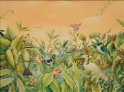 Sale 8642 - Lot 585 - Evenlyn Steinmann (1959 - ) - Lagoon Meeting 37 x 50cm
