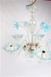 Sale 8689 - Lot 46 - Murano Glass Chandelier c1950s