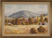 Sale 8949 - Lot 2044 - Alex Steuerwald (1940 - ) - Golden Summer, Macleay Valley 60 x 90 cm (frame: 77 x 107 x 4 cm)