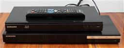 Sale 9134H - Lot 87 - A Samsung Blue Ray 3D player and one other.