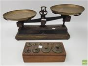Sale 8439F - Lot 1863 - French Metal Scales and Weights