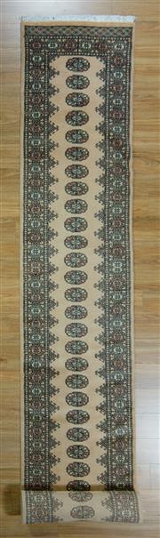 Sale 8653C - Lot 15 - Pak Bukhara 607cm x 77cm