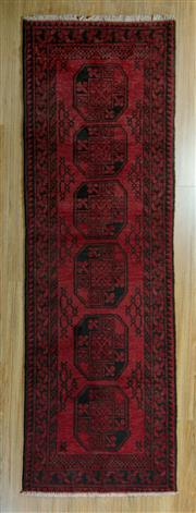 Sale 8717C - Lot 45 - Afghan Turkman Runner 245cm x 70cm