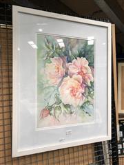Sale 8789 - Lot 2109 - M.Straney - Still Life, watercolour, SLR 40x28cm
