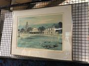 Sale 8841 - Lot 2043 - Kenneth Jack (1924 - 2006) - Australian Towns, No. 4 Buninyong, VIC 33 x 48cm