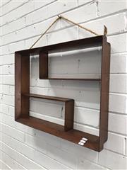 Sale 9092 - Lot 1089 - Vintage wall mount shadow box (h:46 x w:61cm)