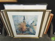 Sale 8413T - Lot 2050 - Various Artworks & Mirror various sizes
