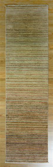 Sale 8653C - Lot 16 - Afghan Stripe 290cm x 78cm