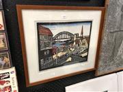 Sale 8816 - Lot 2057 - Margaret Preston Framed Print