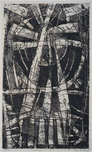 Sale 8901 - Lot 508 - Roger Kemp (1908 - 1987) - Concept, 1972 50.5 x 30 cm