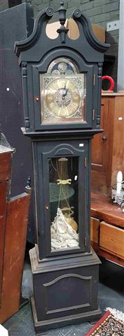 Sale 8925 - Lot 1072 - A longcase clock