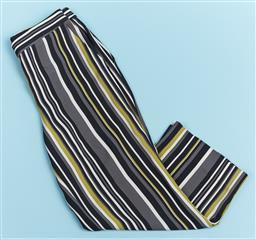 Sale 9091F - Lot 79 - A PAIR OF PRADA MILANO WIDE LEG PANTS, in vertical stripe size Eur 42
