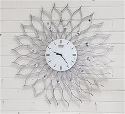 Sale 9191 - Lot 1037 - Modern wall clock by Settler design (d:78cm)