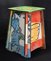 Sale 8301A - Lot 48 - David Bromley (1960 - ) - Untitled (various scenes) h. 30cm
