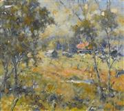 Sale 8323A - Lot 38 - Reginald George Rowe (1916 - 2010) - In the Glade 26.5 x 29.5cm