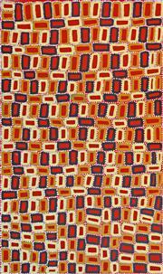 Sale 8394 - Lot 541 - Walala Tjapaltjarri (1960 - ) - Tingari 153 x 90cm