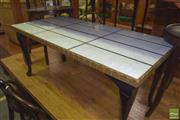 Sale 8390 - Lot 1220 - Marble Coffee Table