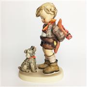 Sale 8456B - Lot 72 - Hummel Figure of a Boy with Dog