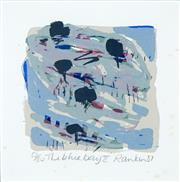 Sale 8552 - Lot 2037 - David Rankin -The Blue Bay II, 87 61.5 x 51cm (frame size)