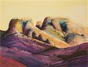 Sale 8650 - Lot 2052 - Mal Leckie (1952 - ) - Sugarloaf Rock 65 x 80cm