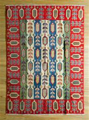 Sale 8700C - Lot 27 - Afghan Kazak 235cm x 167cm