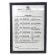 Sale 8862 - Lot 541 - 18x 2004 Penfolds Bin 407 Cabernet Sauvignon, South Australia - each bottle signed by 18 of the 2007 Federal Government Cabinet Mini...