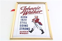 Sale 8985 - Lot 8 - Johnnie Walker Mirror (40.5cm x 30cm)
