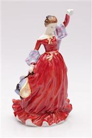 Sale 9070 - Lot 52 - Royal Doulton Fond Farewell lady figure (H21cm, HN3815)