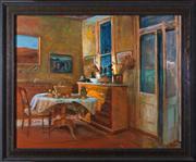 Sale 8313A - Lot 38 - Margaret Olley - Interior still life 60 x 75cm