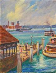 Sale 8323A - Lot 21 - Frank Godart (XIX) (9 works) - Scenes of Sydney, c1900s various sizes, unframed