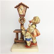 Sale 8456B - Lot 10 - Hummel Figure of a Boy & Girl Praying
