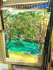 Sale 8619 - Lot 2078 - C. McDonald - McCarrs Creek, oil, SLR,  details verso, 61x45.5cm