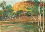 Sale 8650 - Lot 2053 - Terence ODonnell (1942 - ) - Morning Light, Leichhardt River QLD, 1986 53 x 72cm