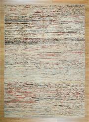 Sale 8653C - Lot 18 - Afghan Chobi Stripe 227cm x 164cm