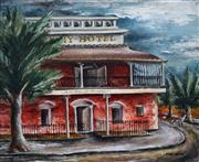 Sale 8992 - Lot 536 - Elaine Haxton (1909 - 1999) - The Hotel 49 x 58.5 cm (frame: 68 x 77 x 4 cm)