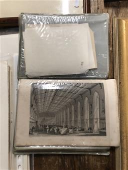 Sale 9139 - Lot 2053 - Album of Antique Architectural  Engravings