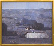 Sale 8316 - Lot 568 - Lawrence Daws (1927 - ) - Di Pasquales Farm, 1997 102 x 122cm