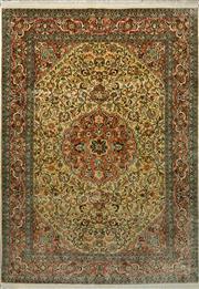 Sale 8439C - Lot 89 - Kashmiri Silk 213cm x 153cm