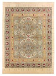 Sale 8536A - Lot 48 - An Antique Romanian European Wool Carpet, 1920 Romania 448cm x 327cm RRP $16,500.00