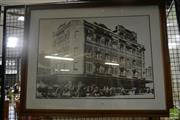 Sale 8525 - Lot 2085 - Framed Photograph of a Pub in the Rocks