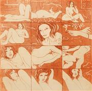 Sale 8658A - Lot 5007 - Paul Delprat (1942 - ) - The Model, 1975 30 x 30cm