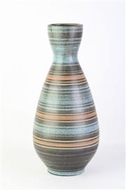 Sale 8778 - Lot 41 - Handpainted Ceramic Vase Made in Israel