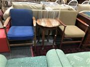 Sale 8817 - Lot 1026 - Pair of Vintage Parker Armchairs