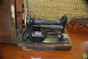 Sale 8383 - Lot 1302 - Cased Singer Sewing Machine