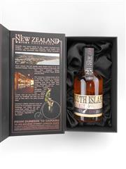 Sale 8571 - Lot 750 - 1x The New Zealand Whisky Company 25YO South Island Single Malt Whisky - 40% ABV, 350ml in presentation box