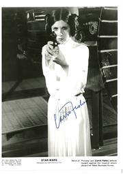 Sale 8555A - Lot 5031 - Carrie Fisher Star Wars