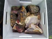 Sale 8601 - Lot 1455 - Crate of Un-cut Mookaite (WA)