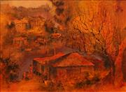 Sale 8642A - Lot 5001 - Alex McMillan (1910 - 1987) - View to Longueville from Woolwich, Sydney Harbour 37 x 50cm