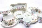 Sale 8706 - Lot 89 - Collection Of Chinese Ceramics Incl Famille Examples