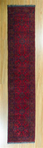 Sale 8717C - Lot 46 - Afghan Khal Mohamadi 392cm x 75cm